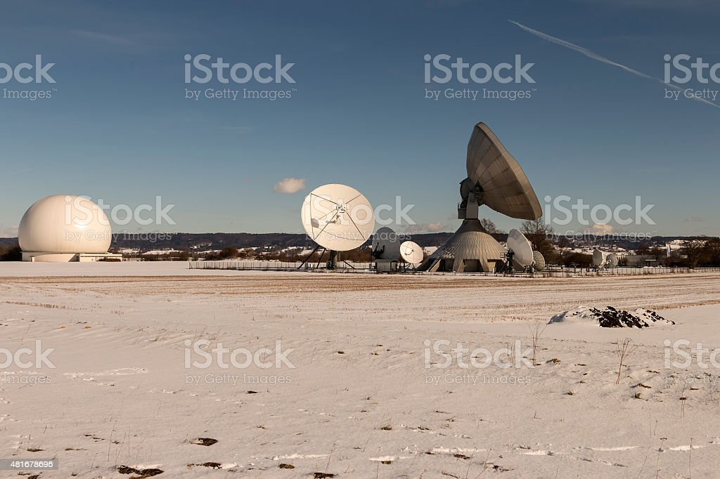 Field of science stock photo