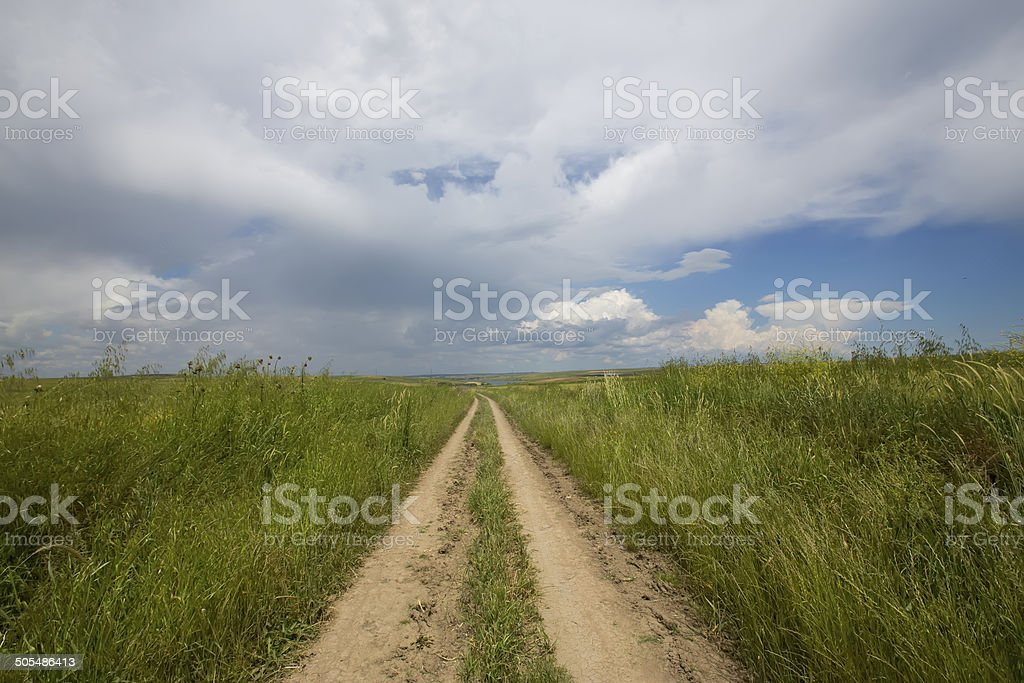 field path stock photo