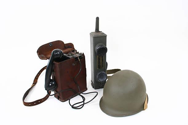 Telefones de campo - foto de acervo