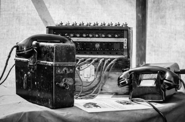 Central téléphonique de champ - Photo