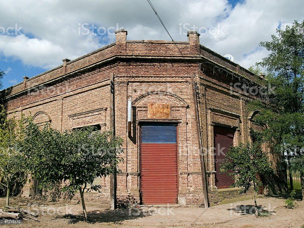 field warehouse royalty-free stock photo