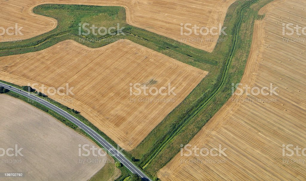 fields and forms 06 stock photo