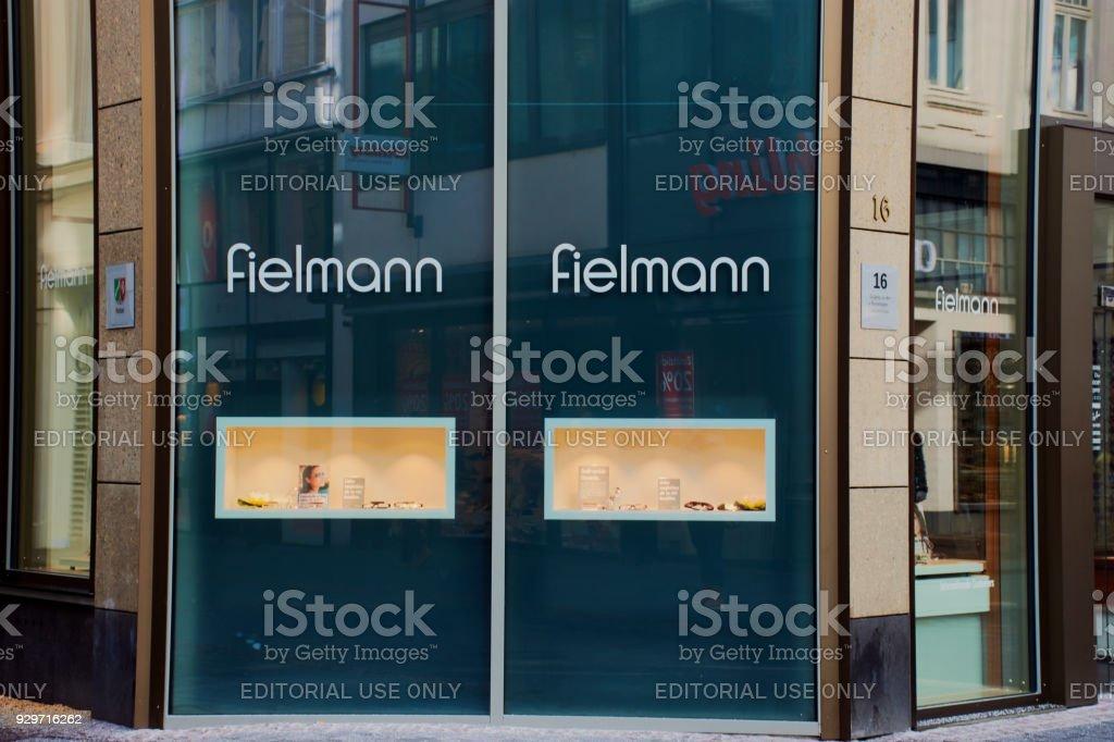 fielmann store in Bonn stock photo