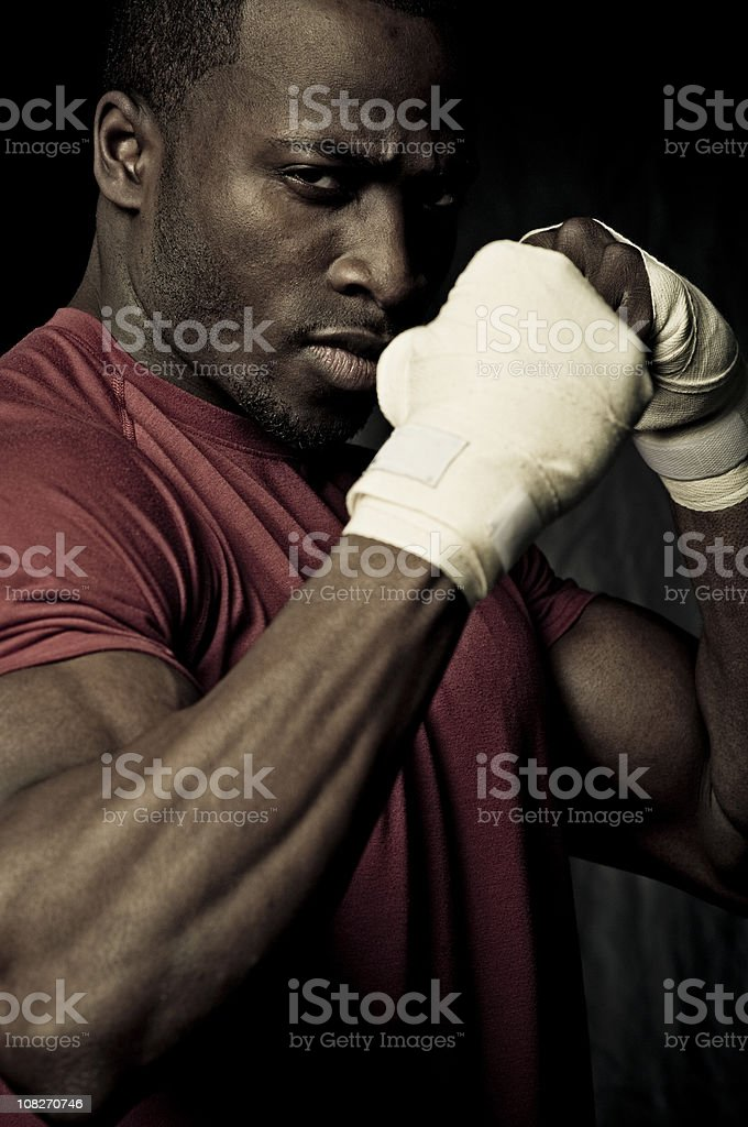 fierce competitor royalty-free stock photo
