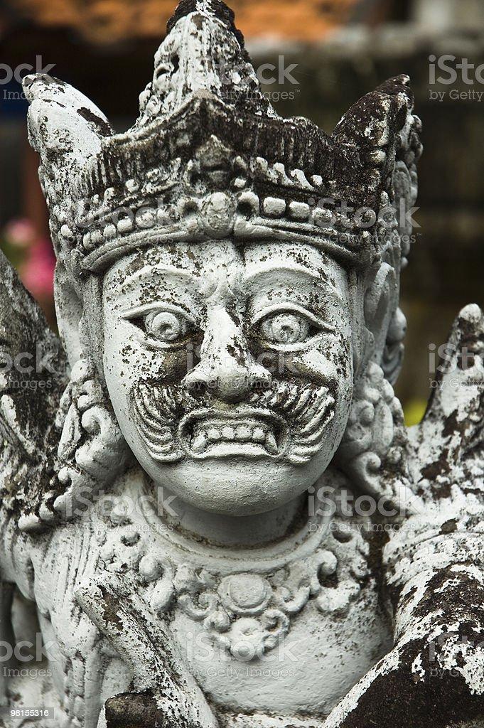Statua di pietra forte ricerca foto stock royalty-free