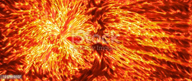 657546096 istock photo Fiery glowing thermonuclear fusion abstract background 1217810107
