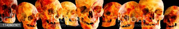 Fiery human skulls at different angles on a black background the or picture id1140602921?b=1&k=6&m=1140602921&s=612x612&h=vdgs57cof0fkvml46pqzo9d1jpbxs6edtco63u4f0vm=