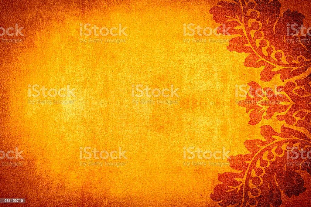 Fiery Orange Abtract Background stock photo