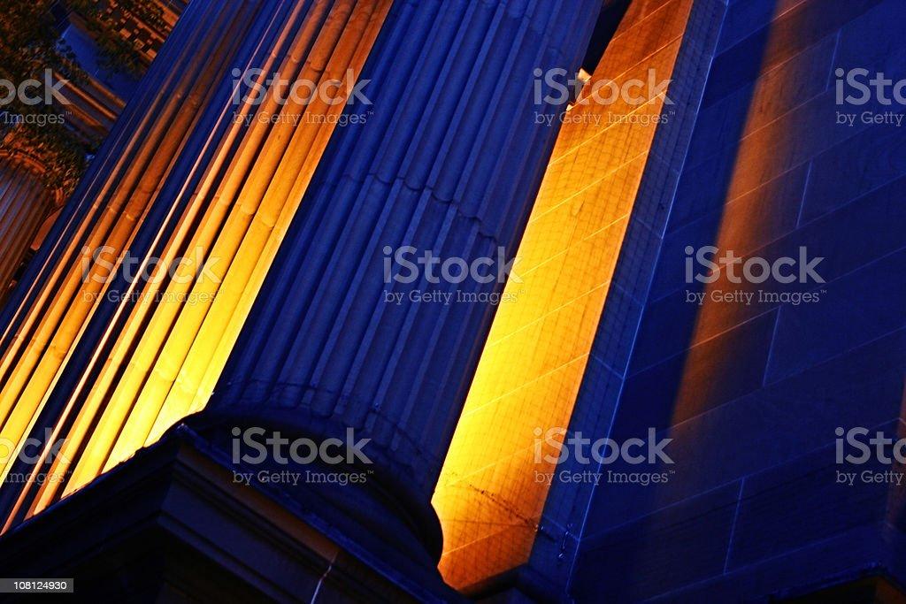 Fiery Pillars royalty-free stock photo