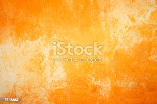 Painted wall texture/background in fiery colors.