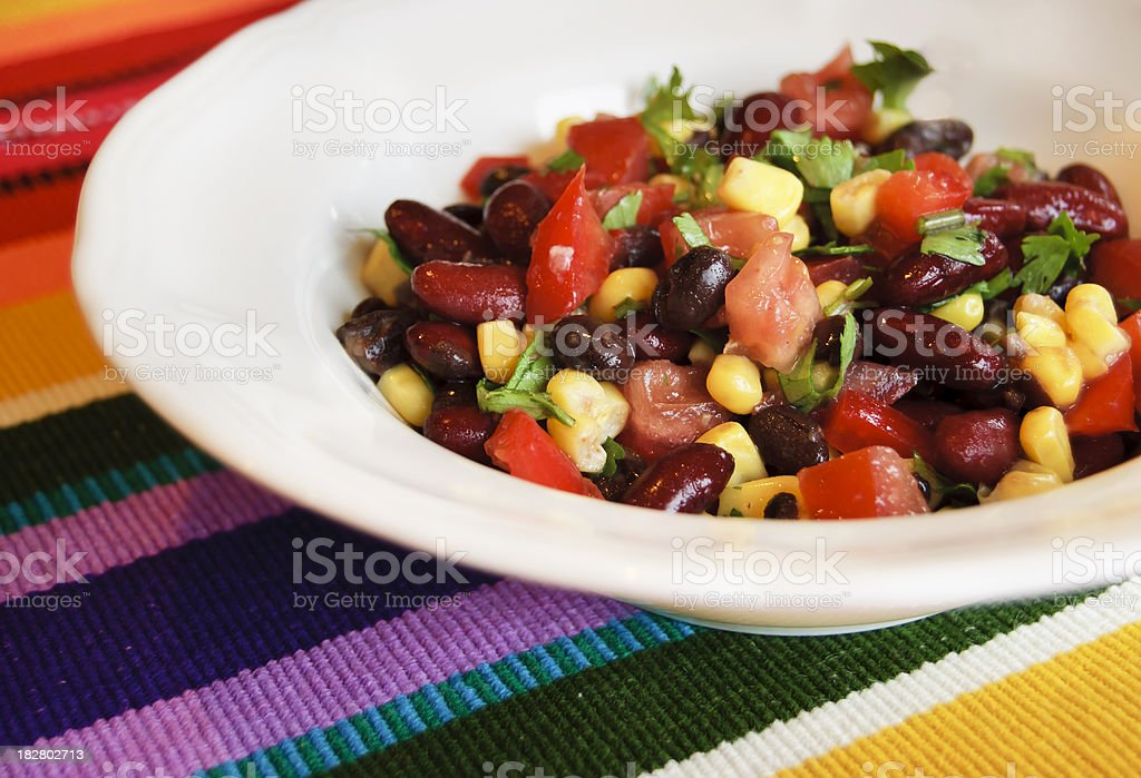 Fiesta Salad stock photo