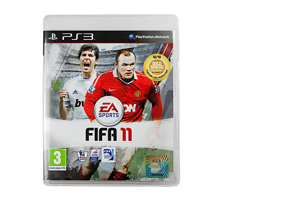 PS3 Fifa 2011 Game stock photo