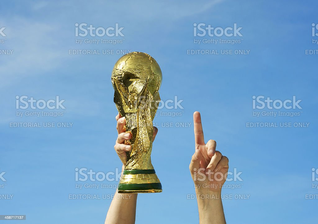 Fifa World Cup Soccer stock photo