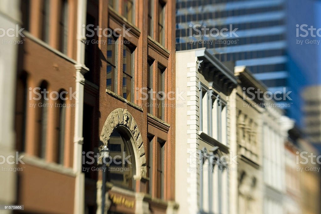 Fifth Avenue, Nashville royalty-free stock photo