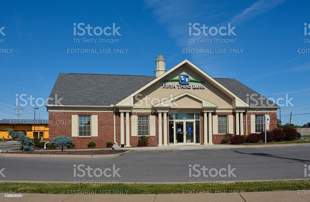 Fifth Third Bank stock photo