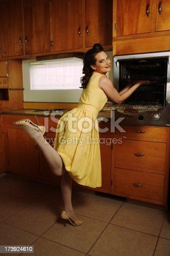 istock Fifties Housewife 173924610