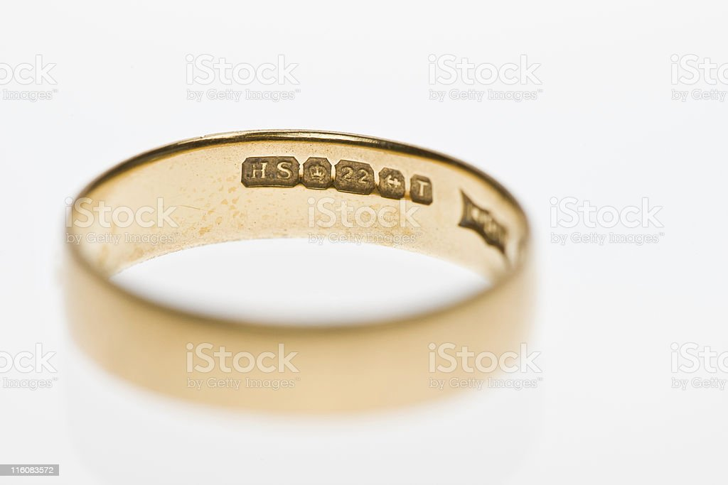 Fifties Wedding Band stock photo