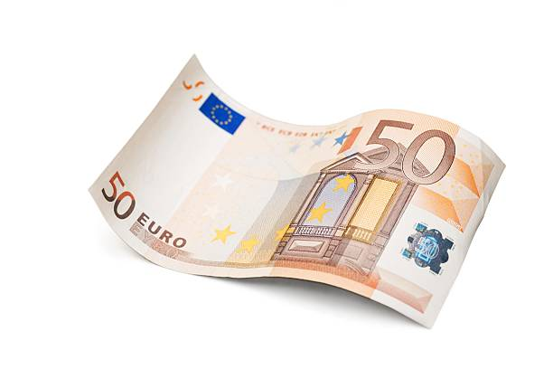 Fifty euro banknote Euro Bill fifty euro banknote stock pictures, royalty-free photos & images