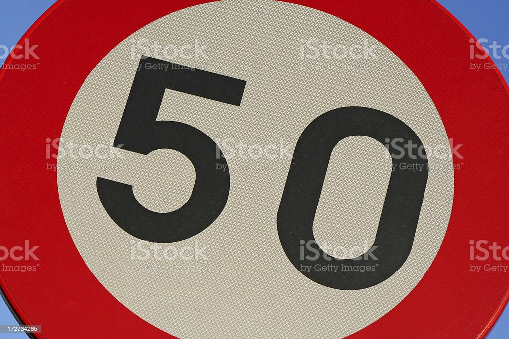 Fifty # 3 royalty-free stock photo