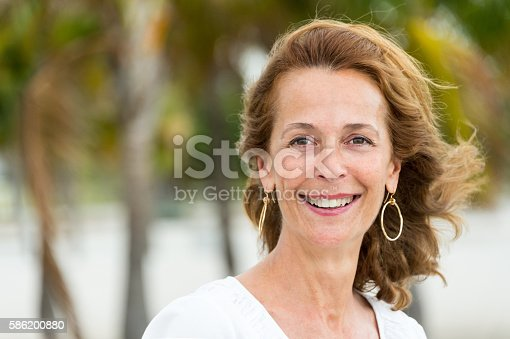 istock Fifty something woman 586200880