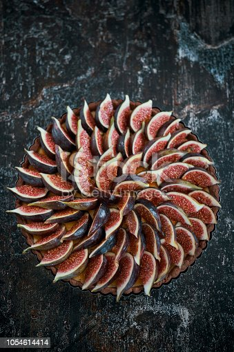 Fig Tart with Cream Cheese