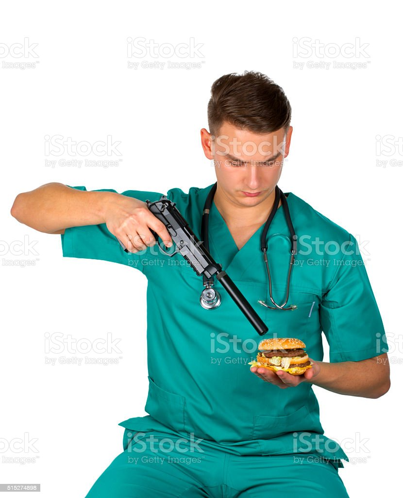 Fight against obesity stock photo