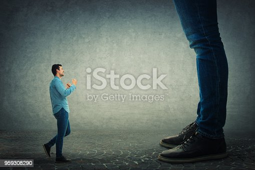 istock fight his big boss 959308290