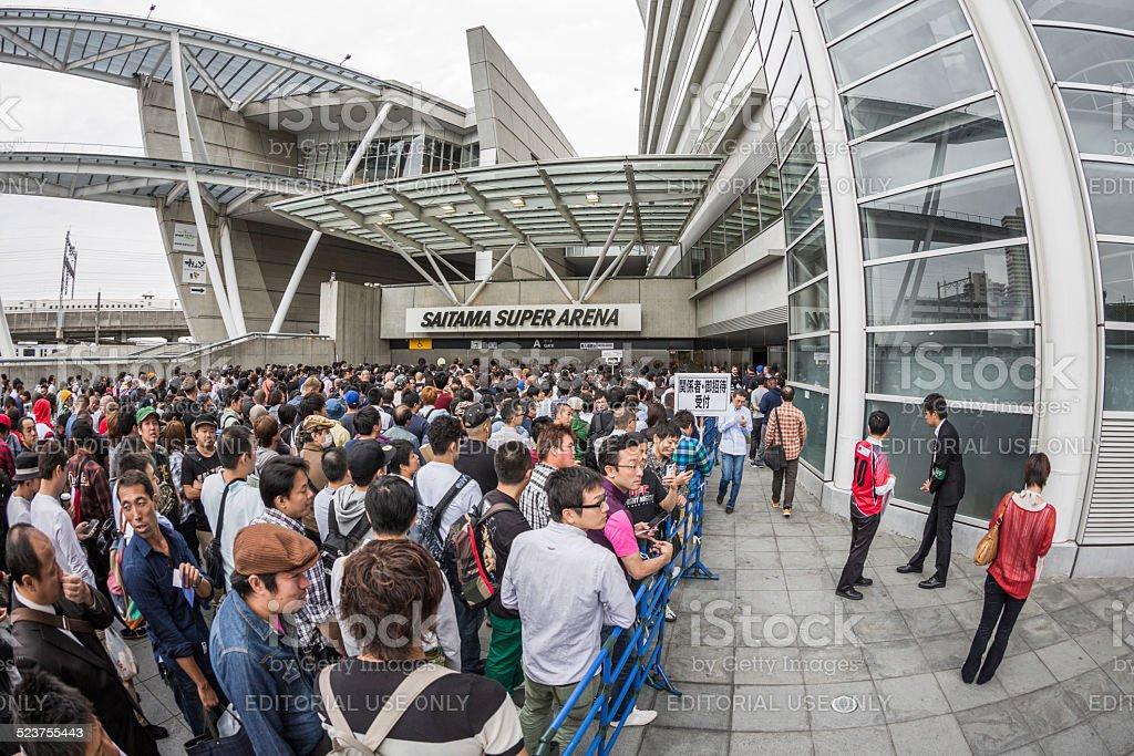 Mma Fight Night At Saitama Super Arena Saitama Japan Stock