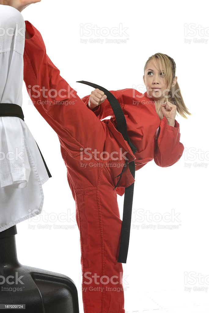 Fight Training royalty-free stock photo