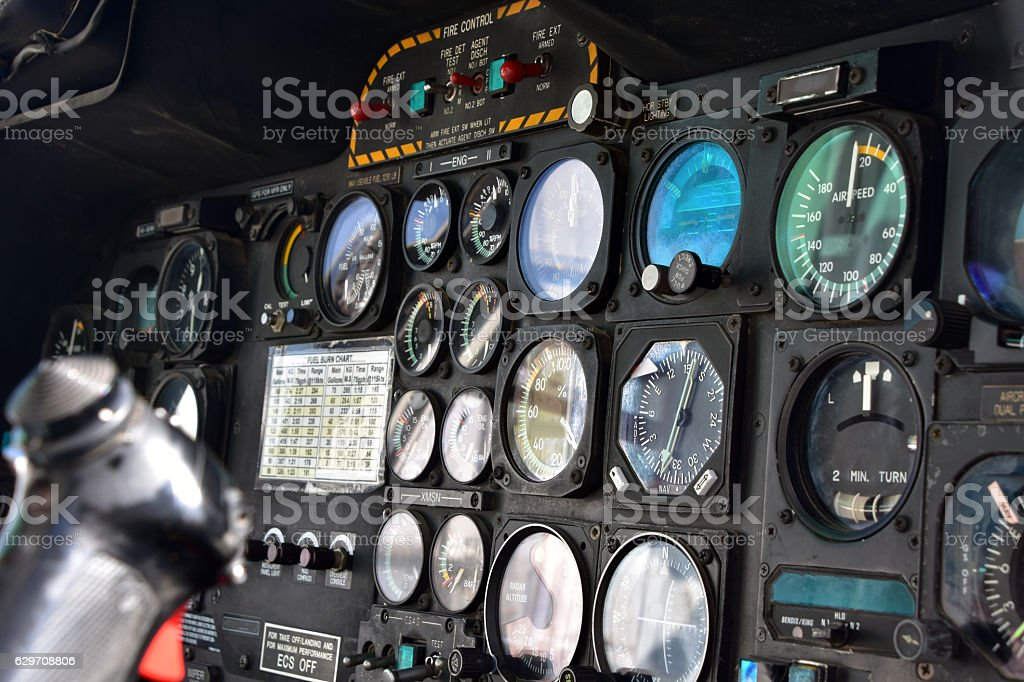 fighter aircraft interiors stock photo