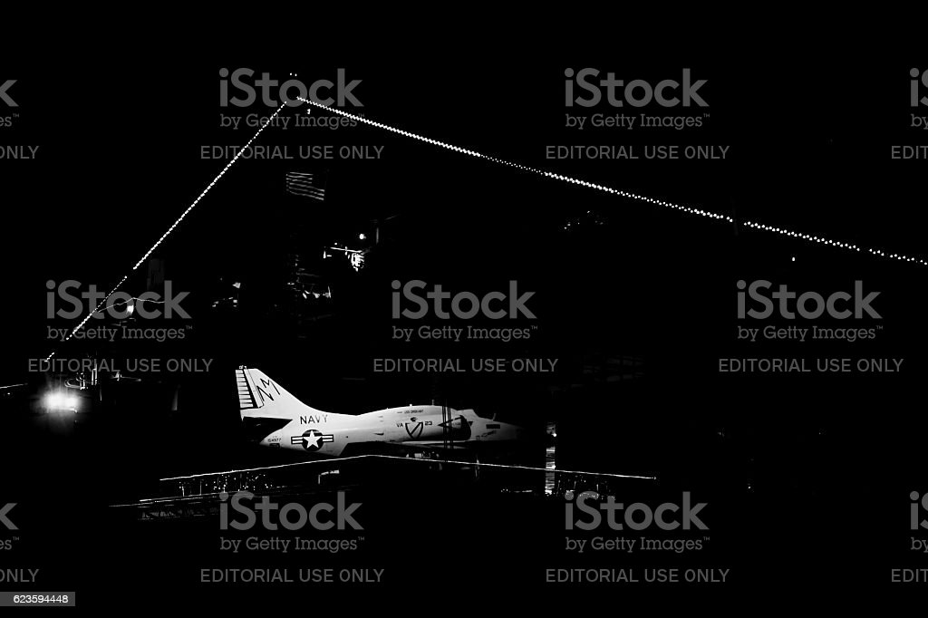 AF-4 fighter aircraft stock photo