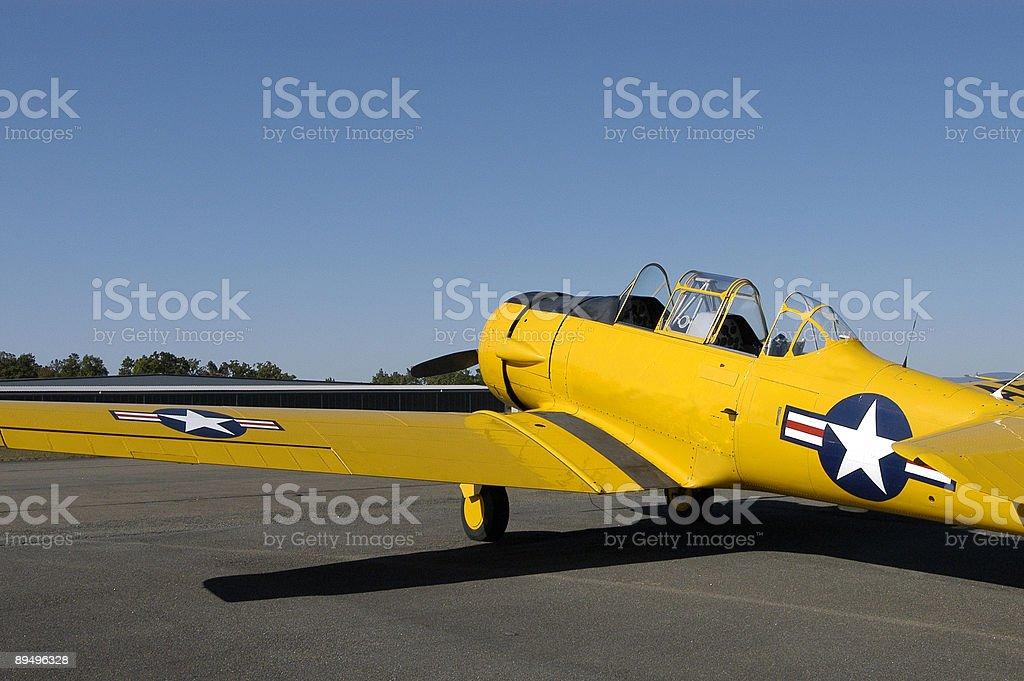 WWII Fighter Samolot zbiór zdjęć royalty-free