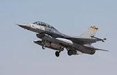 F-16 Fighter Jet landing