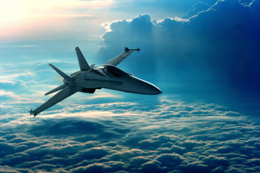 Fighter Jet Stock Photo - Download Image Now
