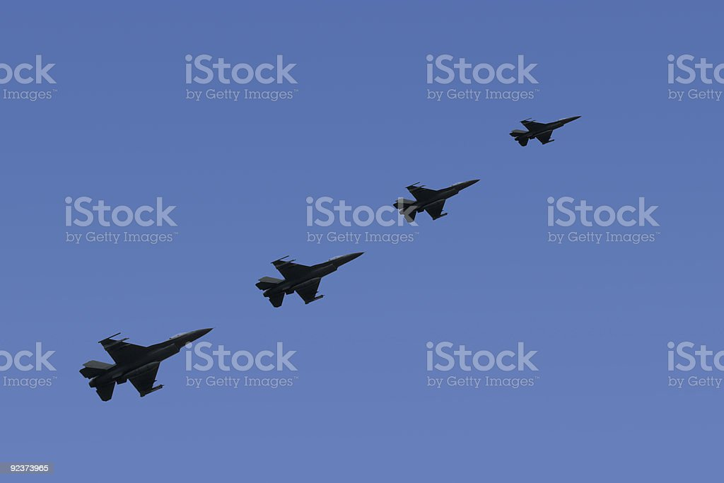 F-16 Fighter Jets stock photo