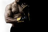 istock MMA fighter 534850729