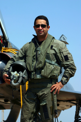 Fighter Pilot Stock Photo - Download Image Now
