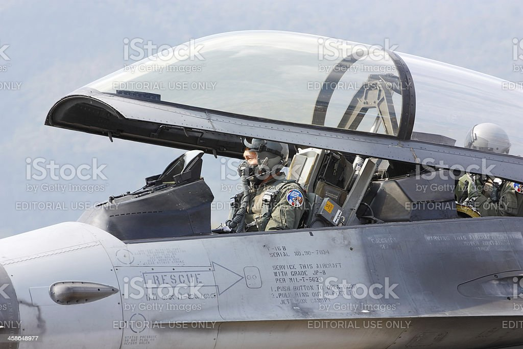 Fighter pilot - Royalty-free Adult Stock Photo