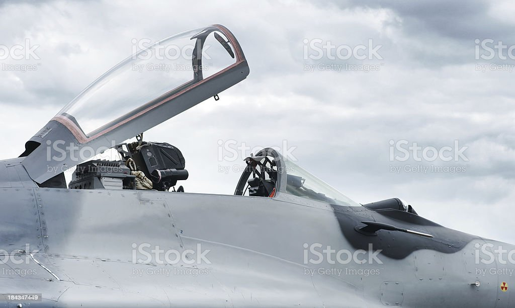 Mig29 Fighter Plane Cockpit Closeup Stock Photo - Download Image Now