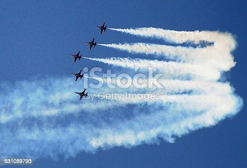 Turkish Stars acrobatics team.