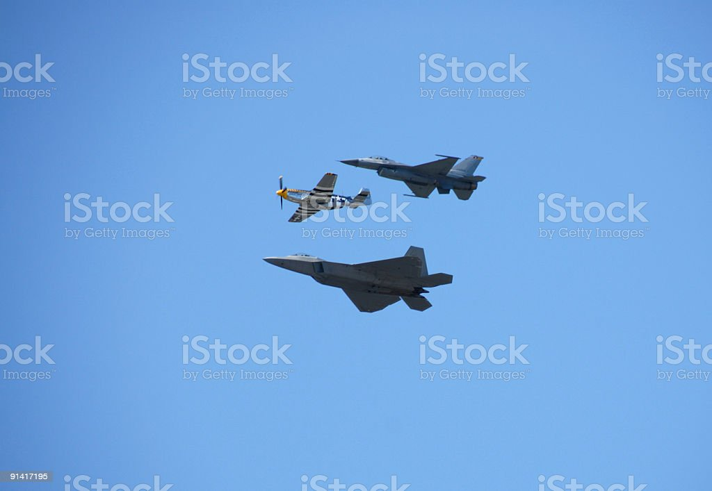 Fighter Planes stock photo