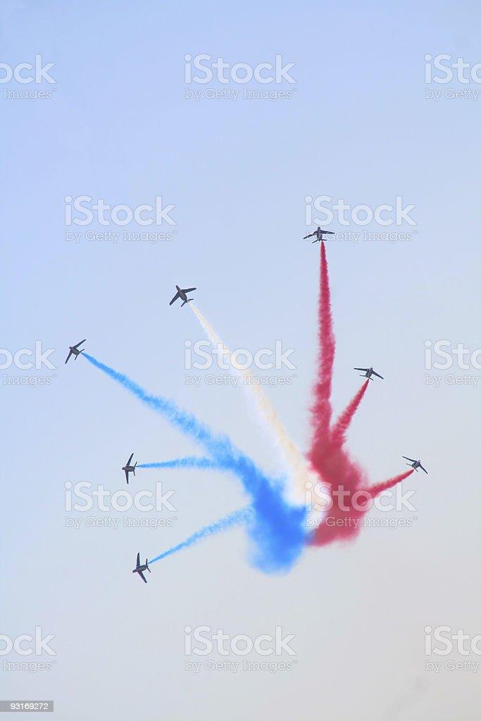 fighter squadron stock photo