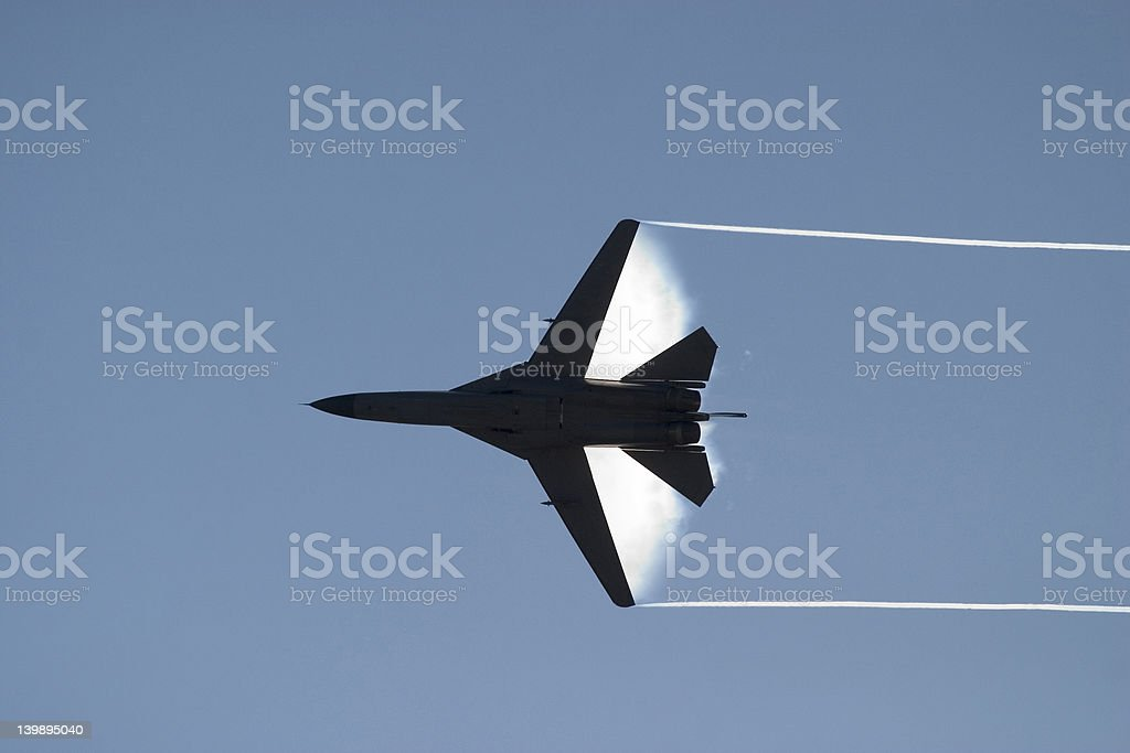 fighterjet royalty-free stock photo