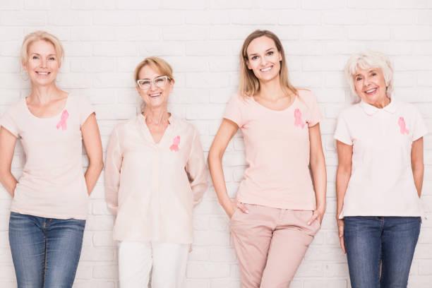 Fighting against cancer together - foto de stock