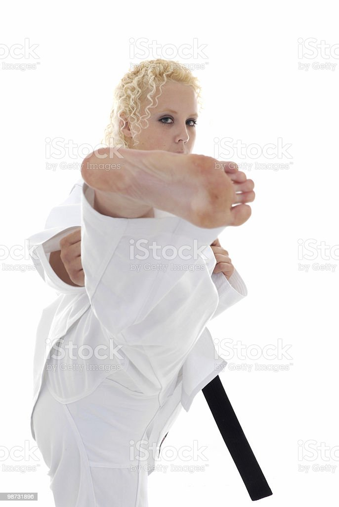 Fighting air royalty-free stock photo