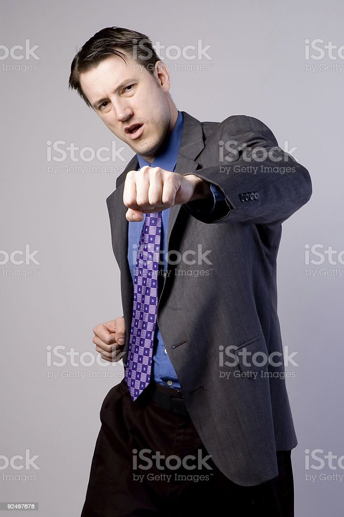 Fighting Back royalty-free stock photo