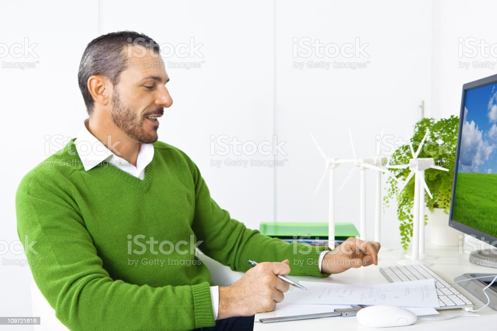 Fighting climatic change royalty-free stock photo