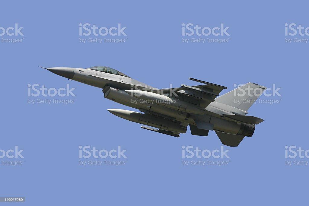 F-16 Fighting Falcon royalty-free stock photo