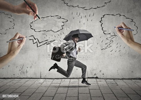 istock Fighting for surviving 657360434