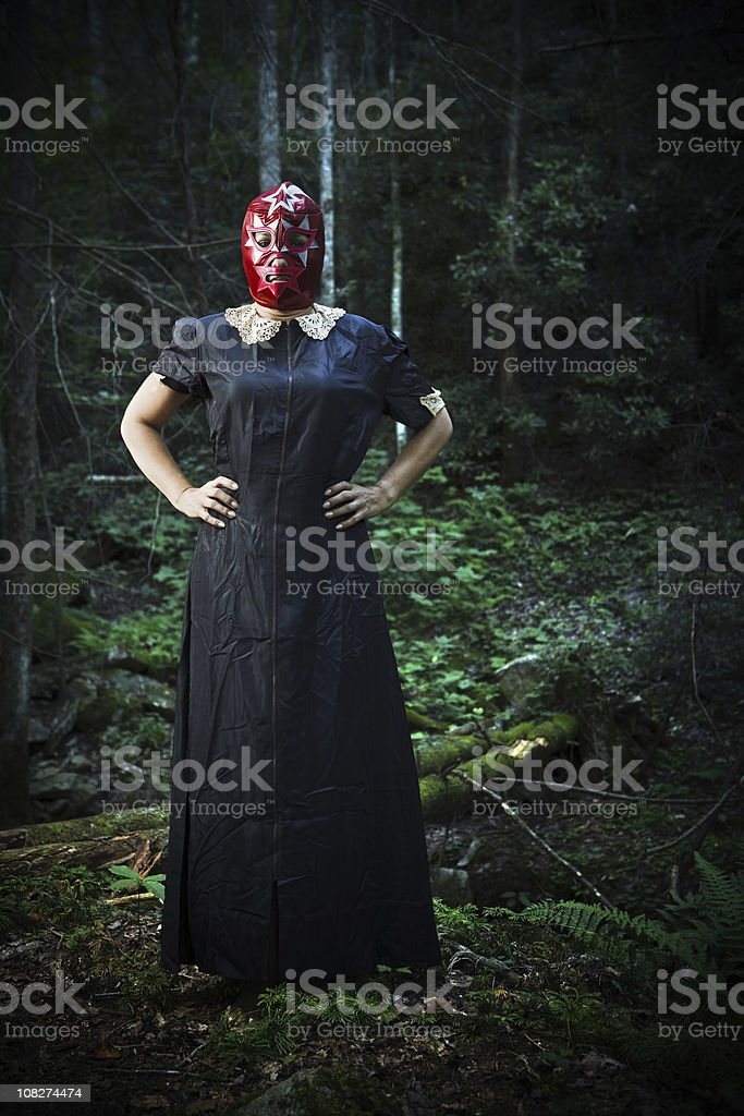 fighting for the forest royalty-free stock photo